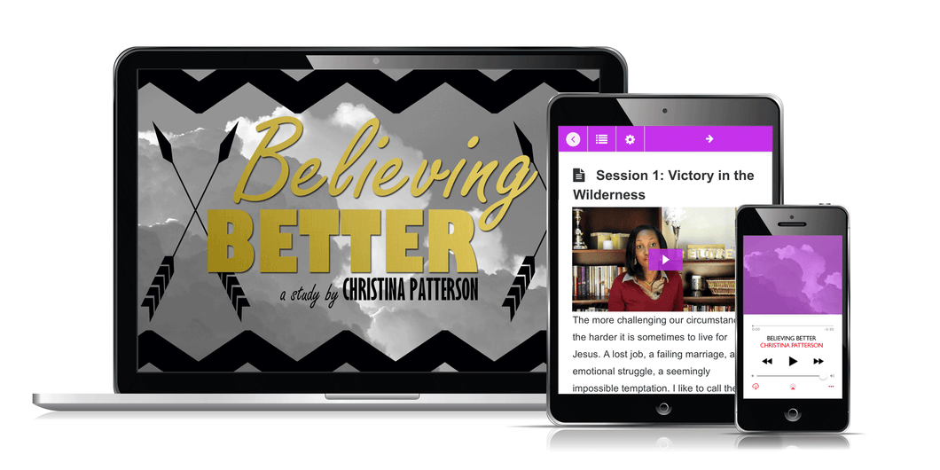Believing Better Video Bible Study