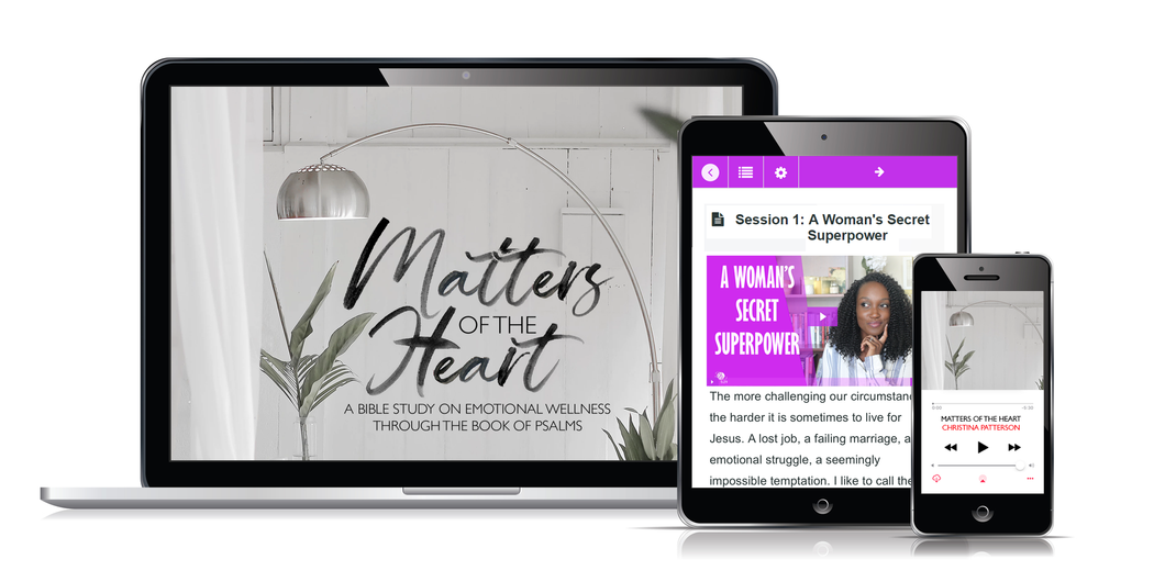 Matters of the Heart Video Bible Study