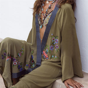 Kaftan Swimsuit Cover up