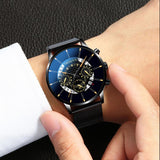 Men's Watch Reloj Hombre Relogio Masculino Stainless Steel Quartz