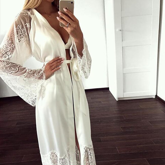 Summer Lace Night Gown