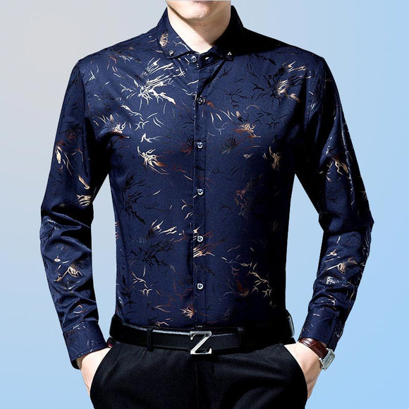 Floral Mens Printed Shirts
