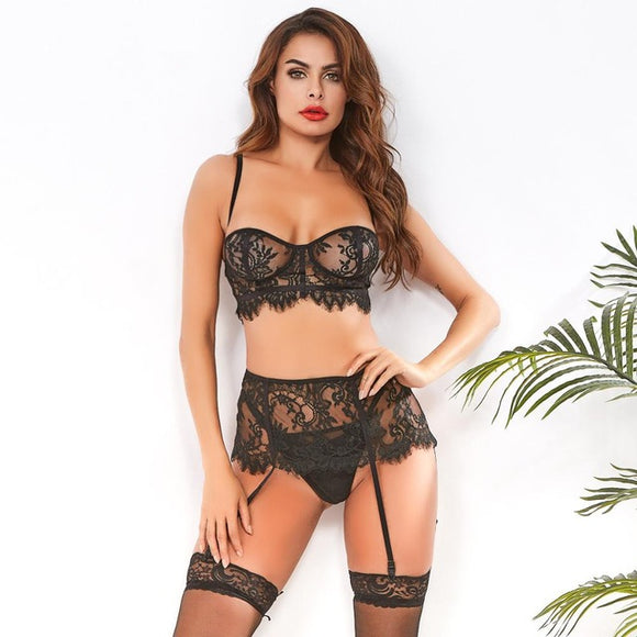 Lace Lingerie Underwear Set
