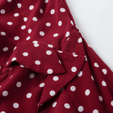 Polka Dot tight lace dress