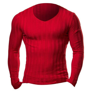Mens Knitted Slim Fit TShirt