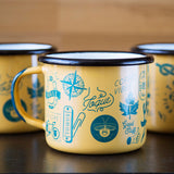 Adventure Enamel Mug