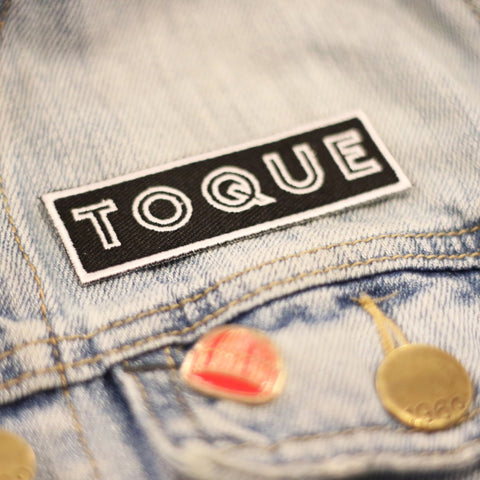 Black & White Toque Patch