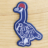 Goose, 'Print is Not Dead' Patch