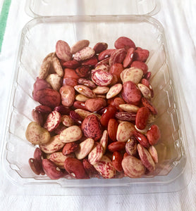 XX-NO MORE THIS SEASON-XX--BEANS:  FRESH SHELLED, ASSORTED (1/2 LB)