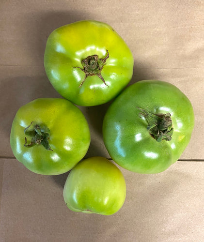 TOMATOES:  GREEN (1 LB)