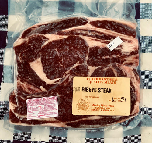 PASTURED ANGUS BEEF:  RIBEYE STEAK
