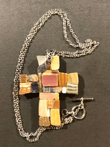 SHELL MOSAIC PENDANTS