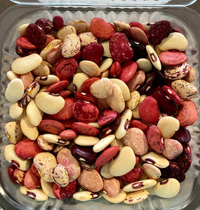 HEIRLOOM BEANS:  FRESH-SHELLED BUTTERBEANS