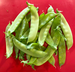 SWEET GIANT SNOW PEAS (1/2 lb)