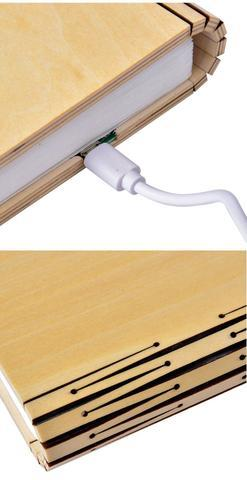 LIAM LED BOOK LAMP