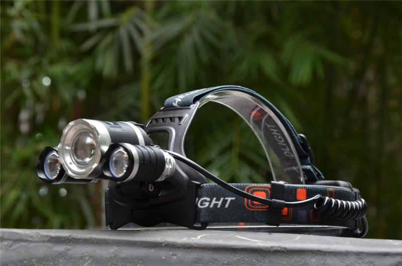 RECHARGABLE ULTRA BRIGHT LED HEADLAMP