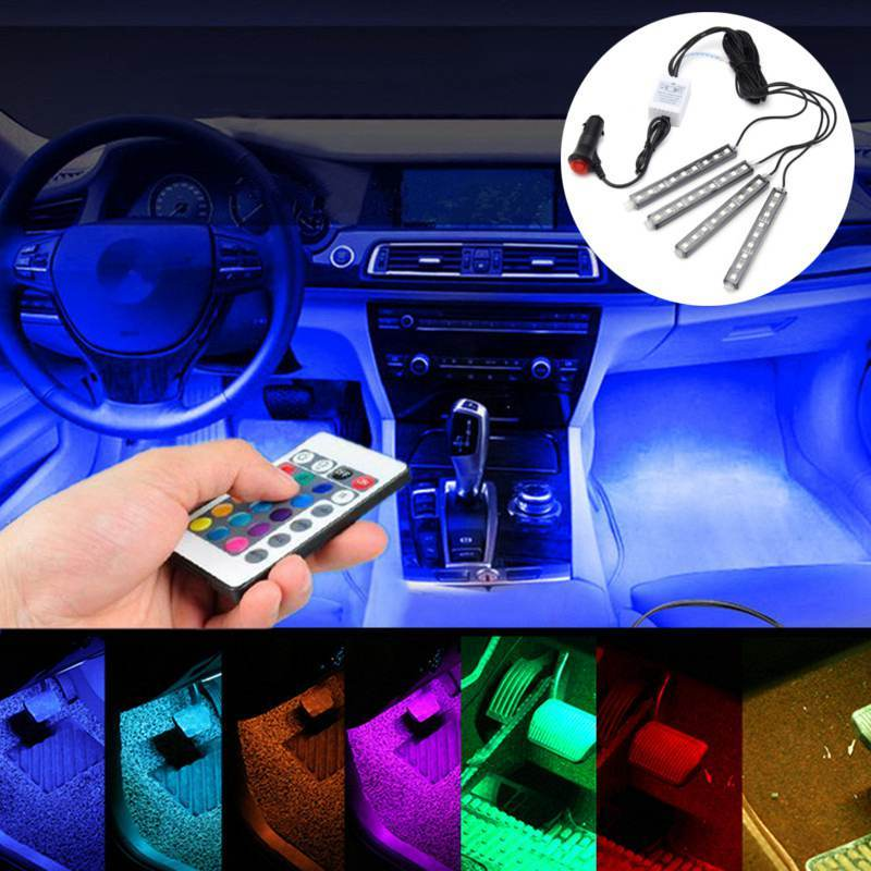 Car Floor Lights