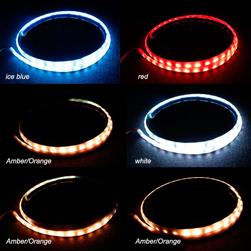 Universial Flowing LED Car Light Strips