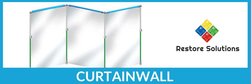 Keep your work area contained with Curtain Wall!