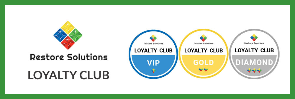 Get rewarded with the Restore Solutions Loyalty Club