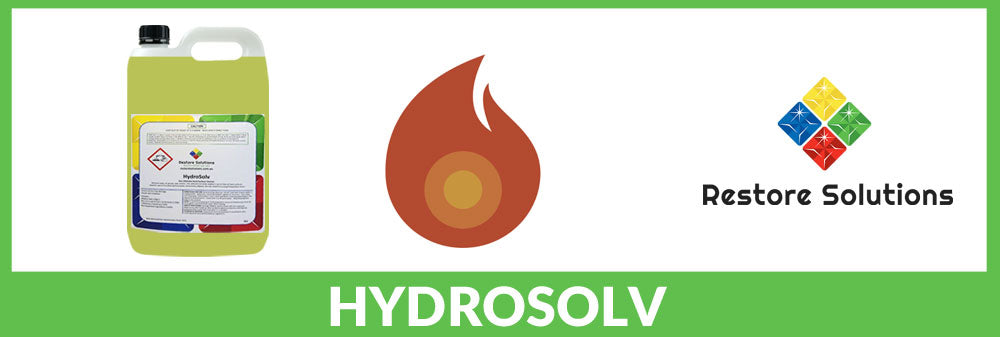 Hydrosolv Fire Cleaner – removes residue fast