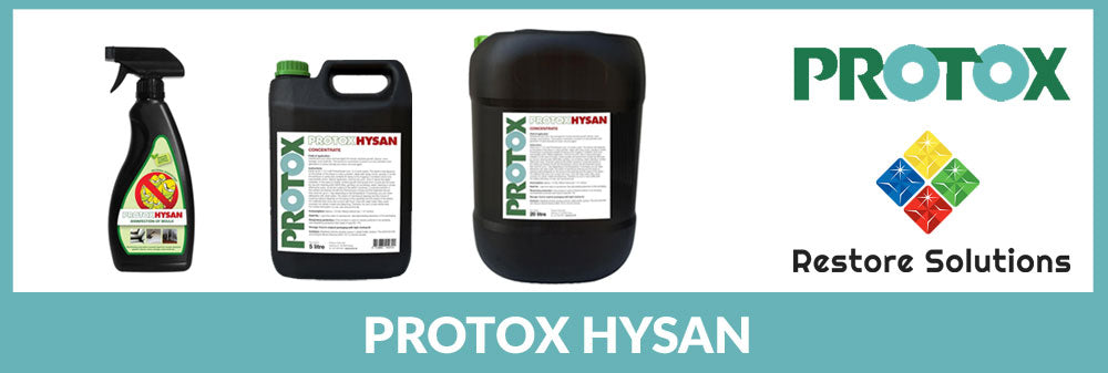 Protox Hysan Mould Cleaner – removes more than just mould