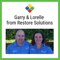 Garry and Lorelle from Restore Solutions