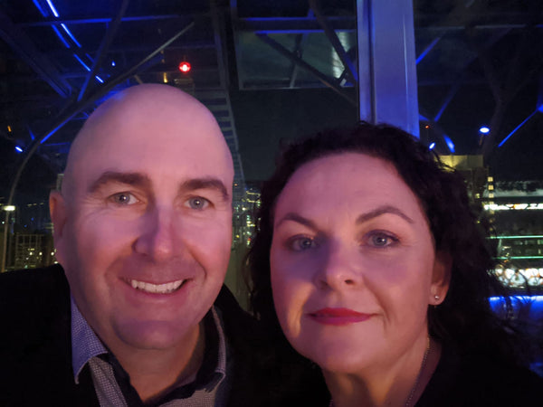 Photo of Garry Carroll and Lorelle McCulloch