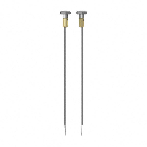 TROTEC TS 012/300 Round Electrodes, pair, 4 mm, insulated