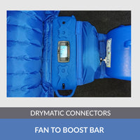 Drymatic Boost Bar MK II x 2 includes Fan to Boost Bar Connector