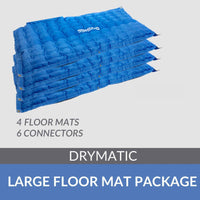 Drymatic Large Floor Mat Package