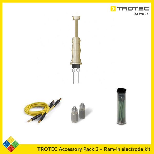 TROTEC Ram-In Hammer Probe Pack