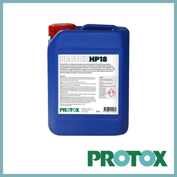 Protox HP18 Hydrogen Disinfectant and Mould Stain Remover