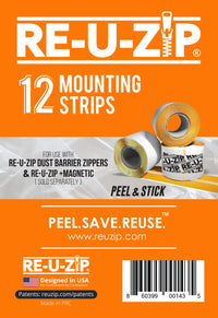 Re-U-Zip Mounting Strips (12 Pack)