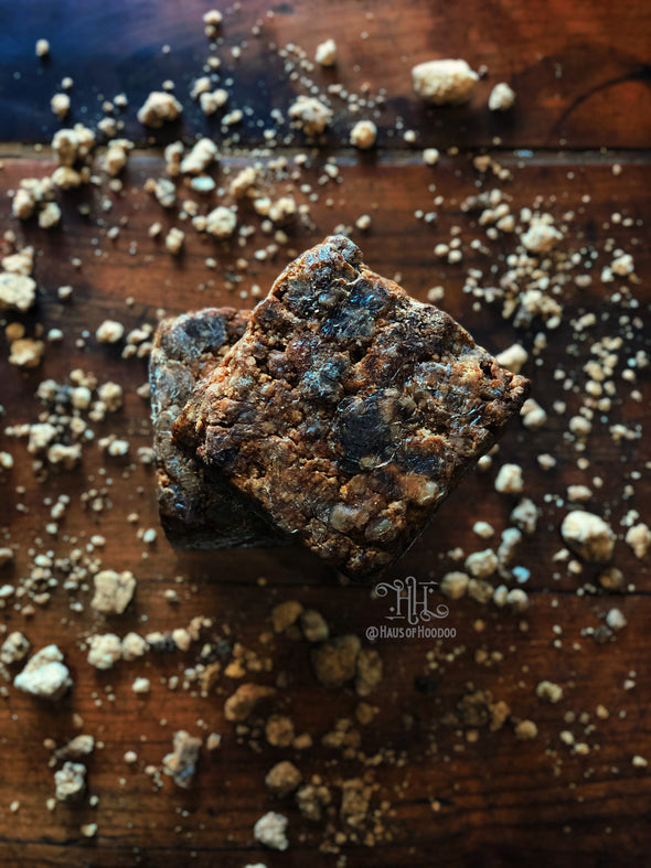 Raw African Black Soap (made with Ghanaian Shea Butter)