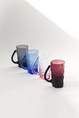 Multicolor Crinkle Cup Set