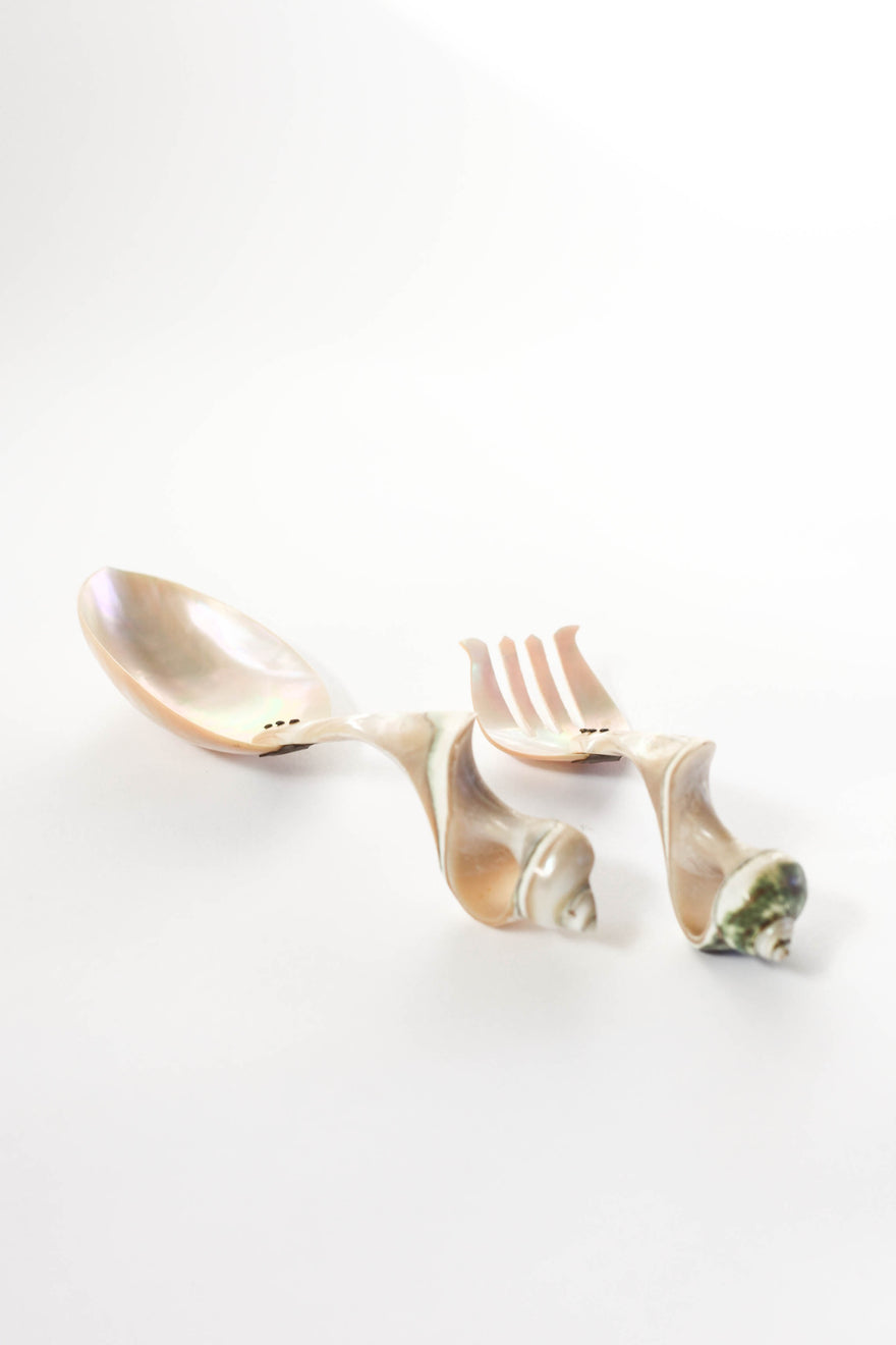 Mother of Pearl Serving Utensils