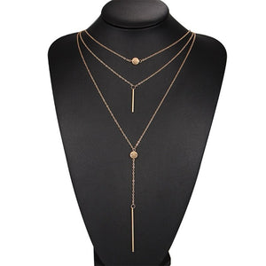 Collier Mode Alliage