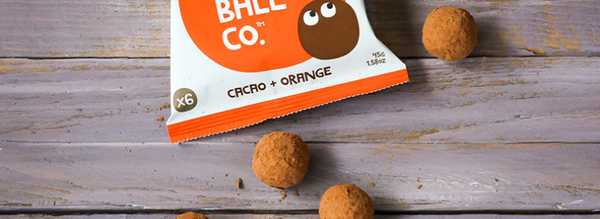The Protein Ball Cacao Orange Bowl
