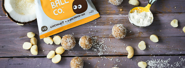 The Protein Ball Coconut Macadamia Bowl