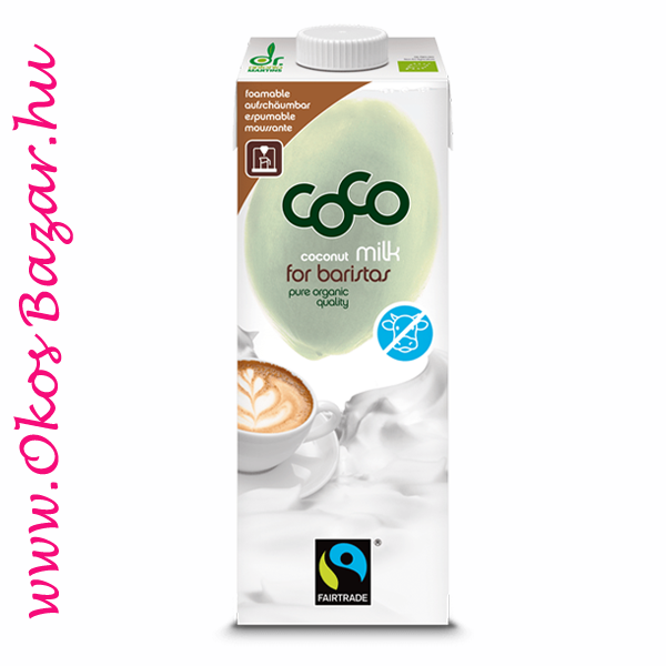 Dr. Antonio Martins Organic Coconut Milk for Baristas