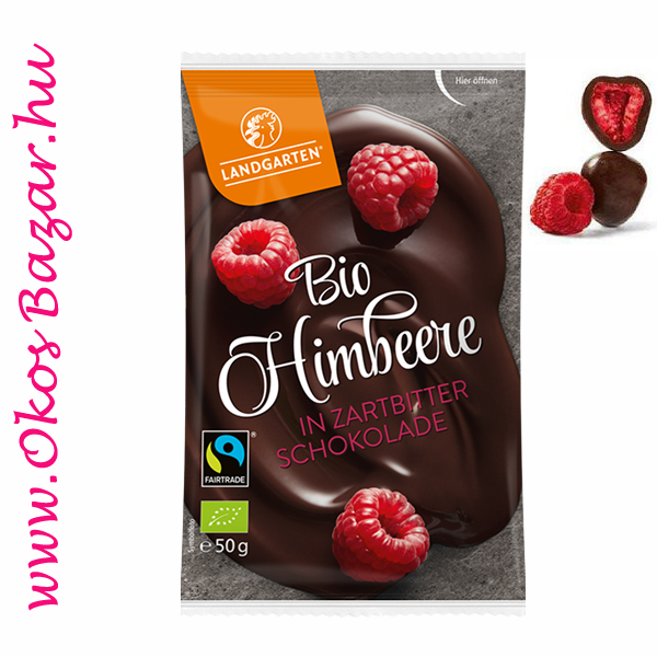 Landgarten BIO Raspberry in Dark Chocolate