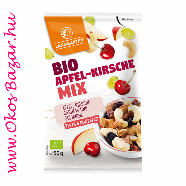 Landgarten BIO snack mix - Apple-Cherry