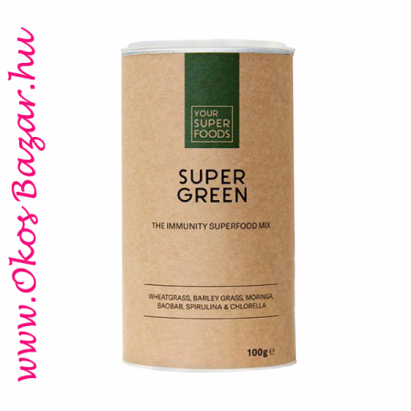 Your Superfoods Super Green Mix keverék