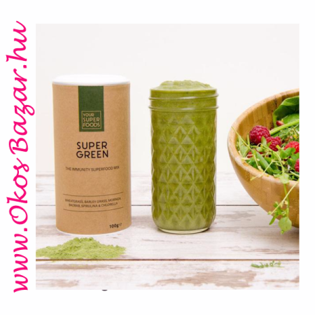 Immunerősítő szuperélelmiszer - Your Superfoods Super Green Mix
