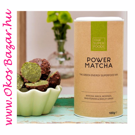 Your Superfoods Power Matcha energia golyók