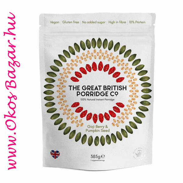 The Great British Porridge goji berry & pumpkin seed