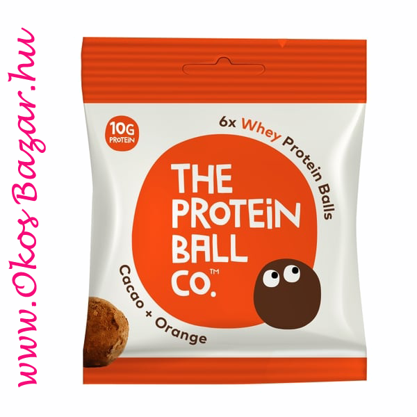 The Protein Ball cacao-Orange fehérje golyó