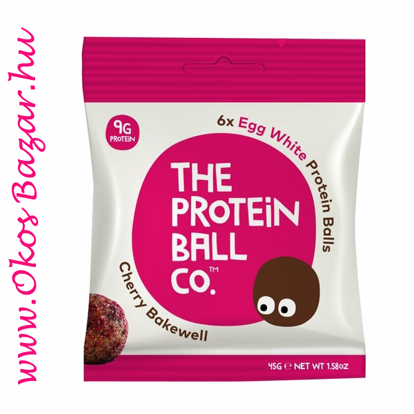 The Protein Ball Cherry Bakewell fehérje golyó