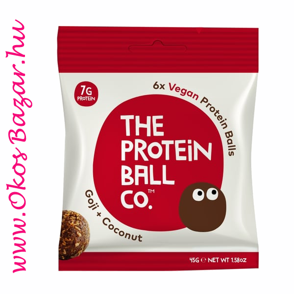 The Protein Ball Goji Coconut fehérje golyó